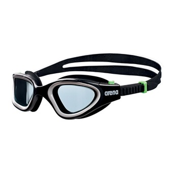 Lunettes de natation ENVISION black/smoke/green