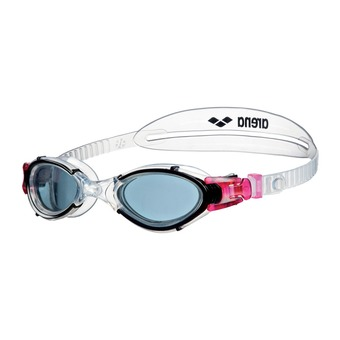 Arena NIMESIS CRYSTAL - Swimming Goggles - Women's - smoke clear/black