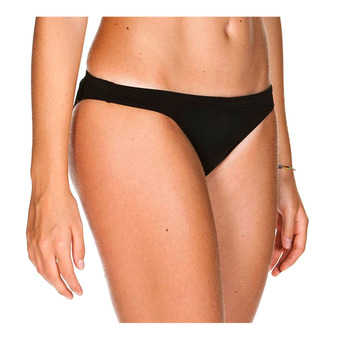 Arena SOLID - Bikini Bottoms - Women's - black/white