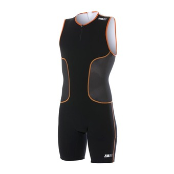 Trisuit - Men's - iSUIT black/orange/white