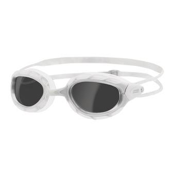 Zoggs PREDATOR - Occhialini da nuoto white/white/smoke