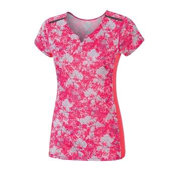 Camiseta mujer PREMIUM AERO pink/griffin