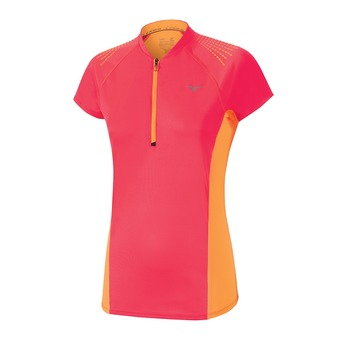 Camiseta mujer MUJIN HZ diva pink/orange pop