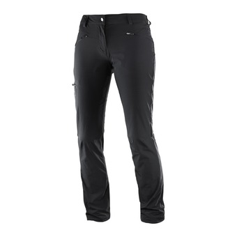 Salomon WAYFARER - Pants - Women's - black