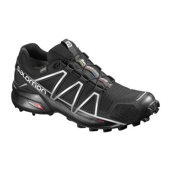 Salomon SPEEDCROSS 4 GTX - Chaussures trail Homme black/silver metallic