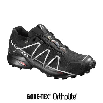 Salomon SPEEDCROSS 4 GTX - Scarpe trail Uomo black/silver metallic