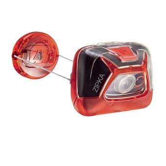 Petzl ZIPKA - Lampe frontale rouge