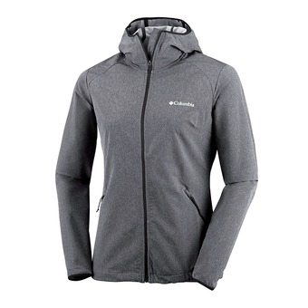 Chaqueta mujer Softshell HEATHER CANYON black heather