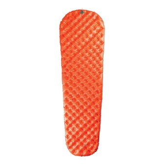 Inflatable Mattress - ULTRALIGHT INSULATED orange