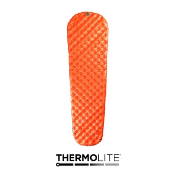 Sea To Summit ULTRALIGHT INSULATED - Matelas gonflable orange