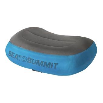 Sea To Summit AEROS PREMIUM - Coussin bleu/gris