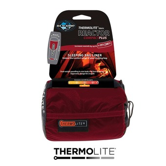 Sea To Summit THERMOLITE REACTOR COMPACT + - Lenzuolo sacco a pelo rosso