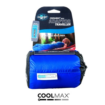 Sea To Summit COOLMAX ADAPTOR - Sábana para saco de dormir azul