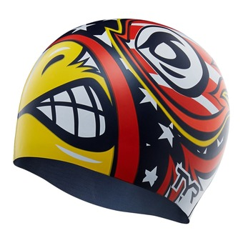 Gorro de natación WINGED ADVENGER yellow/blue/red