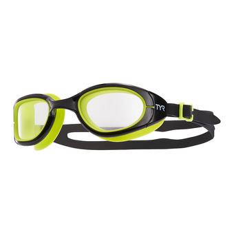 Gafas de natación fotocromáticas SPECIAL OPS 2.0 black/clear-black lime green