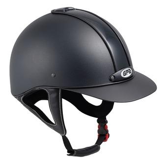 Gpa NEW CLASSIC 2X - Casco da equitazione black