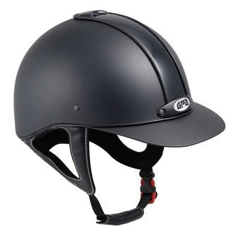 GPA NEW CLASSIC 2X - Riding Helmet - black