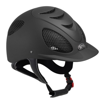Gpa SPEED AIR 2X - Casque équitation black/black