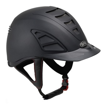 Gpa SPEED AIR 4S - Casque équitation black/black