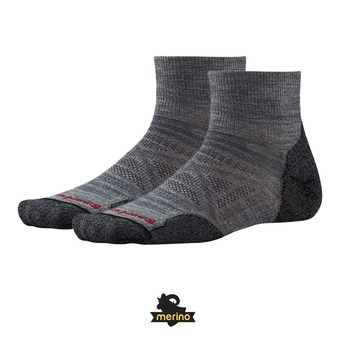 Socks - Men's - PHD OUTDOOR LIGHT MINI medium grey