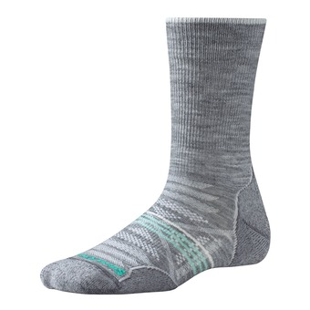 Smartwool PHD OUTDOOR LIGHT CREW - Socks - Women's - light gray