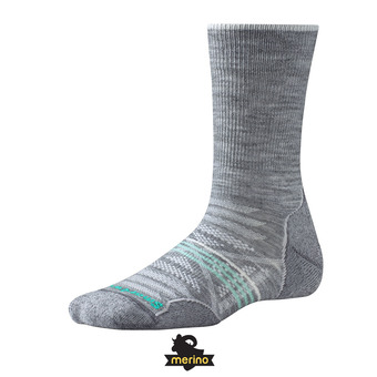 Smartwool PHD OUTDOOR LIGHT CREW - Calcetines mujer light gray