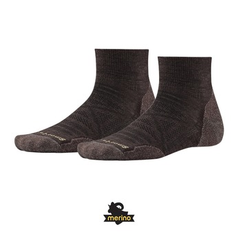 Smartwool PHD OUTDOOR LIGHT MINI - Chaussettes Homme chestnut
