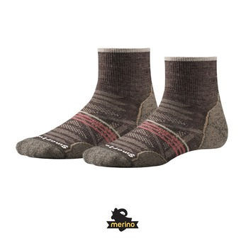 Smartwool PHD OUTDOOR LIGHT MINI - Chaussettes Femme taupe