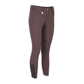 Pikeur PRISCA - Pantalon siliconé Femme marron glacé