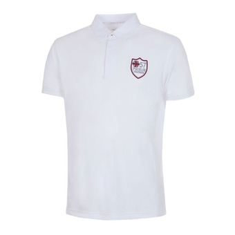 Pikeur TACTEL - Polo concours Homme blanc