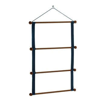 Equiline WOODEN RACK - Support tapis blue
