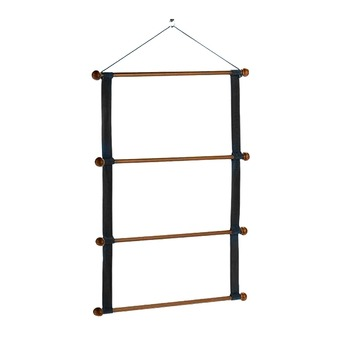 Equiline WOODEN RACK - Support tapis black