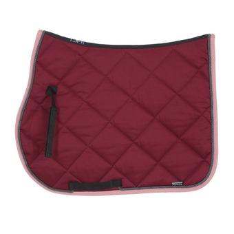 Equiline NEW ROMBO - Tapis mixte burgundy