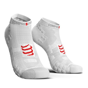 Calcetines PRORACING V3 RUN blanco