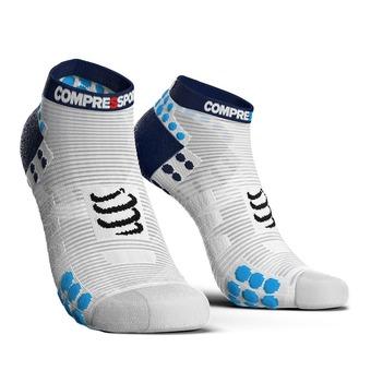 Compressport PRORACING V3 RUN - Socks - white/blue