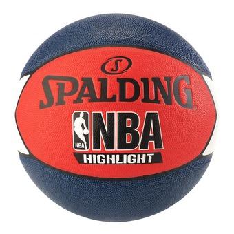 Ballon NBA HIGHLIGHT bleu marine/rouge/blanc