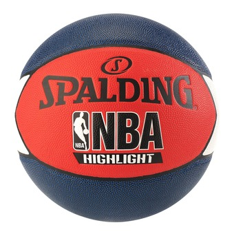 Spalding NBA HIGHLIGHT - Ballon basket bleu marine/rouge/blanc