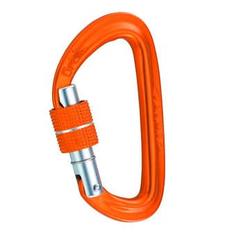 Carabiner - ORBIT LOCK orange
