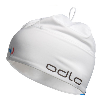 ODLO - Beanie - POLYKNIT TEAM WARM france fan white