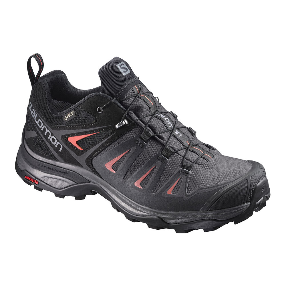 Salomon X ULTRA 3 GTX Chaussures de marche blackred