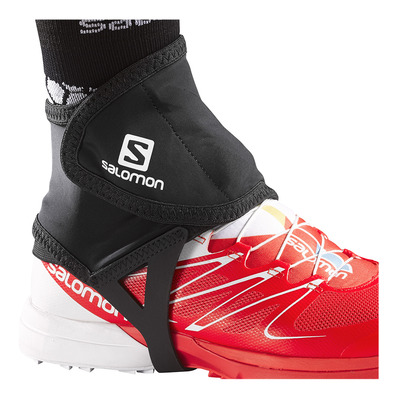 SALOMON - TRAIL LOW - Gaiters - black