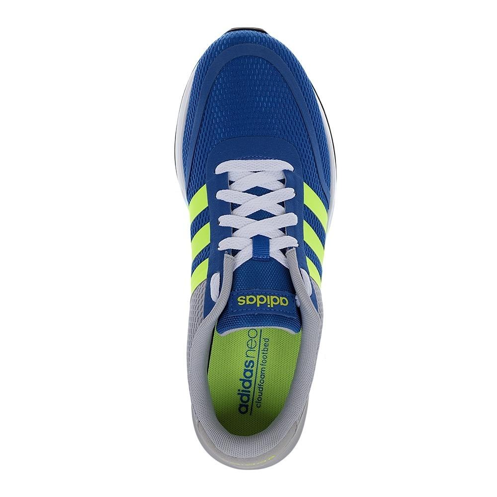zapatillas adidas hombre v racer tm azul