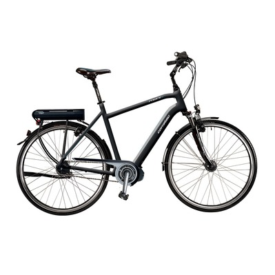 Vélo à assistance électrique E-POWER 28 STEPS dark grey/light grey matt/blue