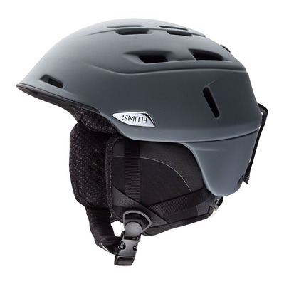 SMITH - CAMBER - Casco de esquí matte charcoal