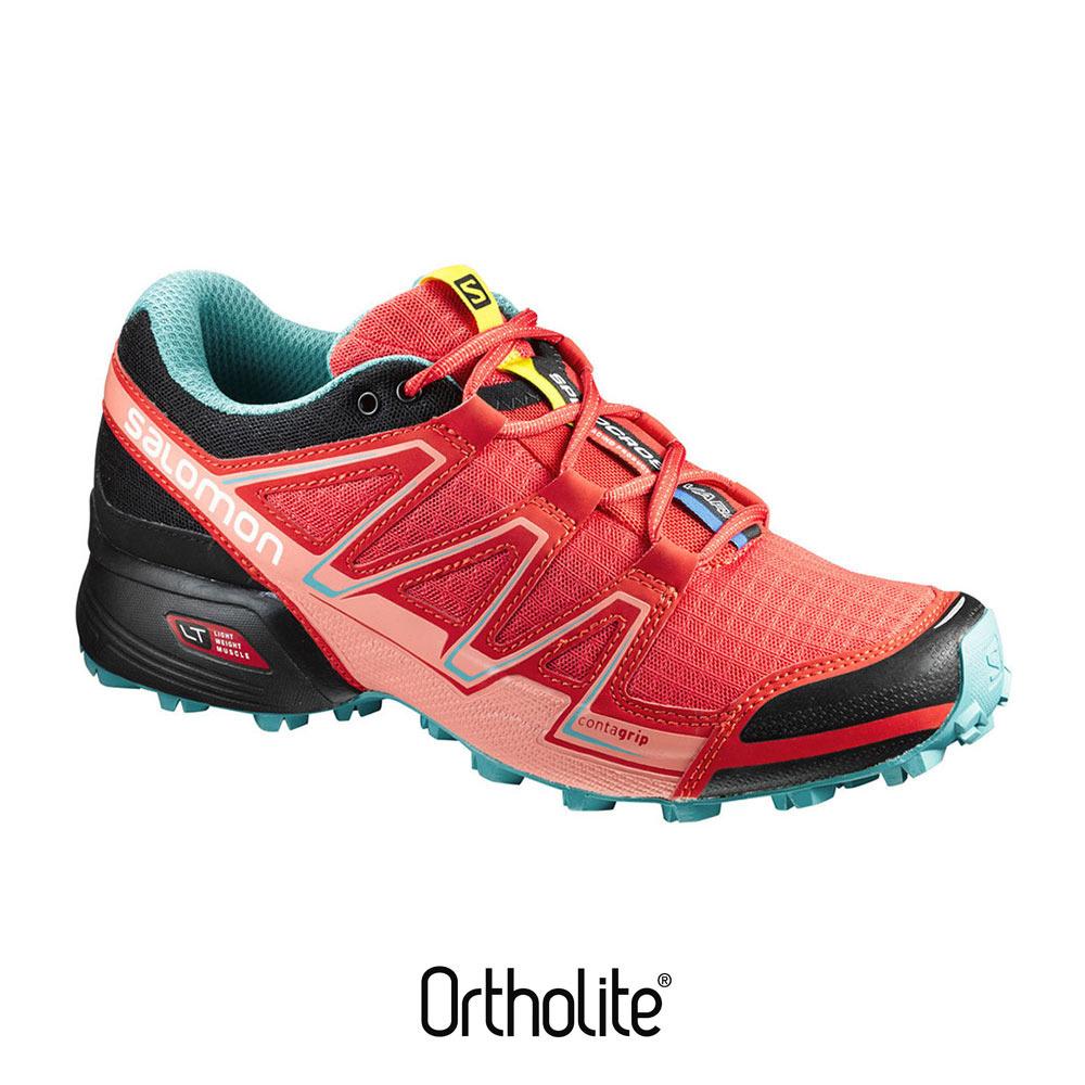 SALOMON Chaussures de trail femme SPEEDCROSS VARIO poppy red