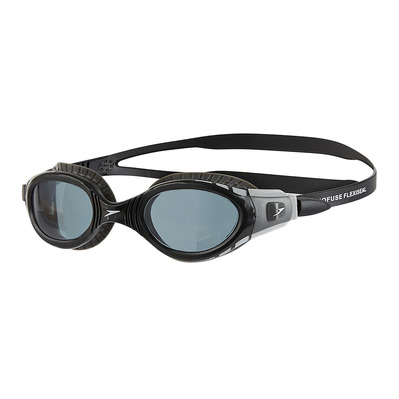 SPEEDO - FUTURA BIOFUSE FLEXISEAL - Swimming Goggles - black/smoke