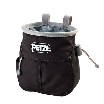 PETZL - SAKA - Chalk Bag - grey