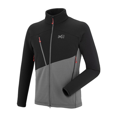 MILLET - ELEVATION POWER - Polar hombre tarmac/black