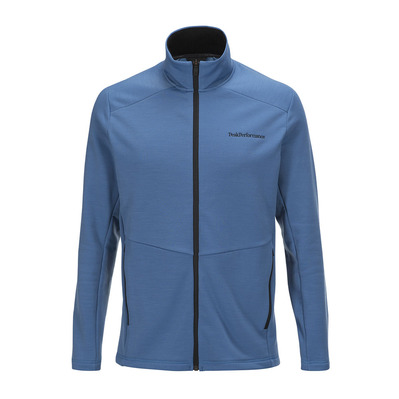 PEAK PERFORMANCE - HELO - Polaire Homme stream blue