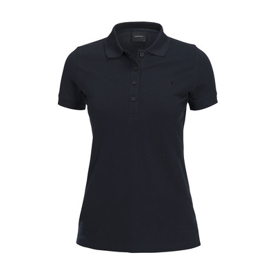 PEAK PERFORMANCE - Polo mujer CL PIQUE salute blue
